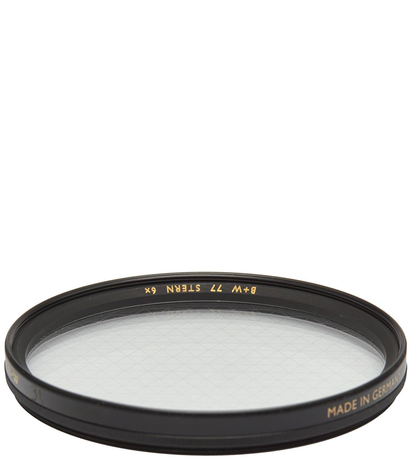 Filtro de lente 6x star cross screen B+W 77mm