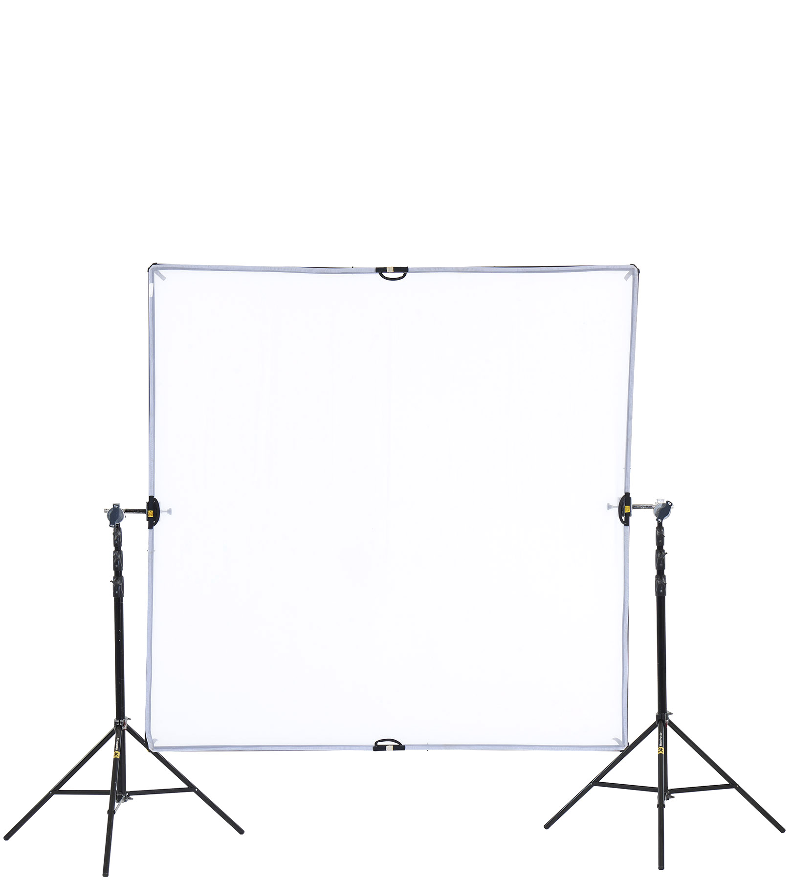 Scrim Jim Kit (180x180cm) com tripés Manfrotto 3 estágios 1004 baac