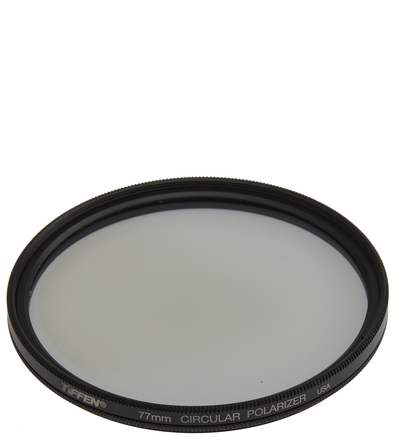 Filtro de lente polarizador circular 77mm Tiffen