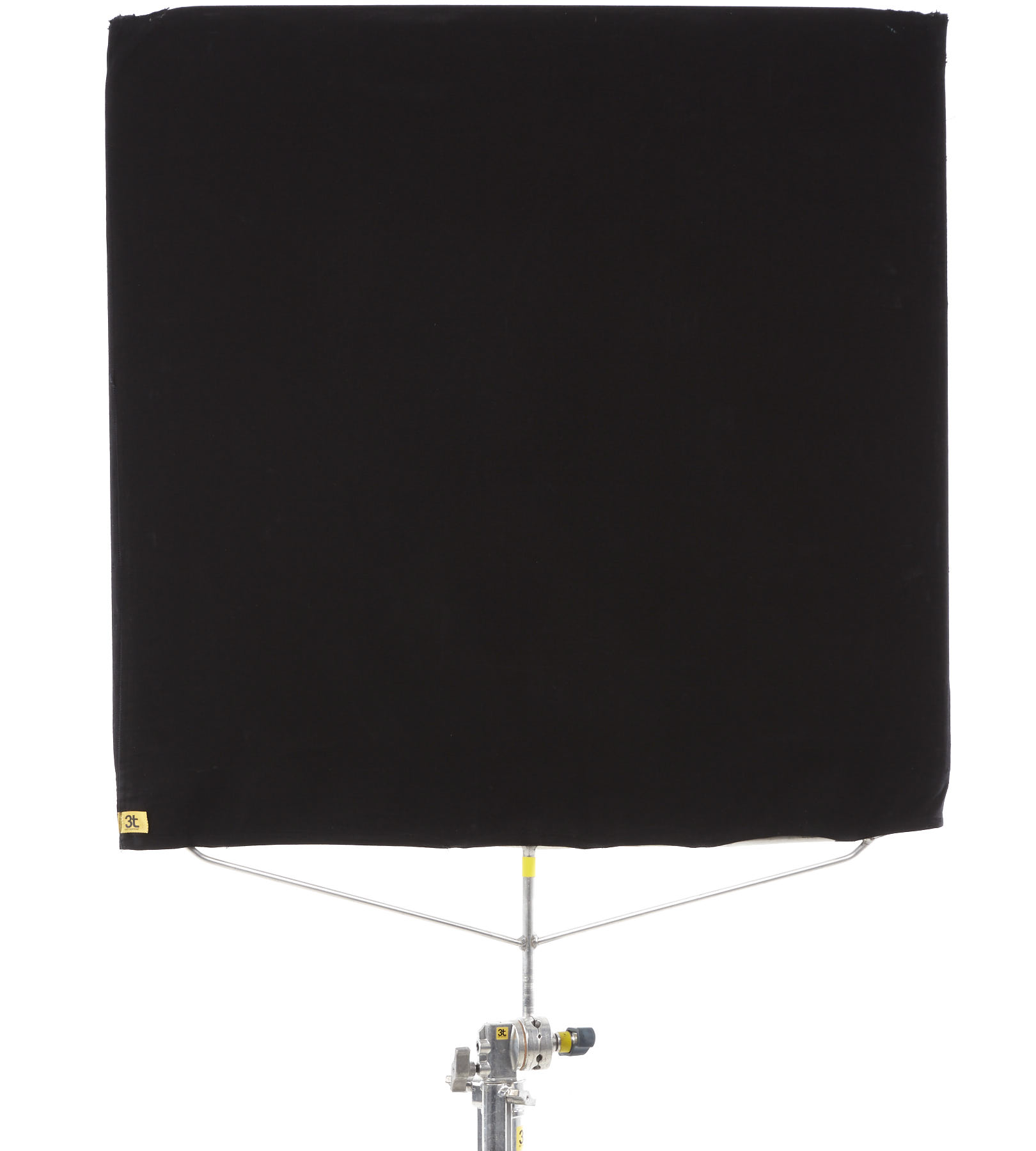 Bandeira preta 1x1m com difusor terkron