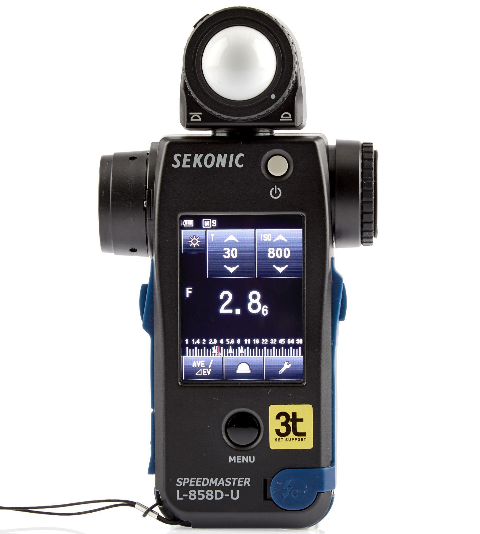 Fotômetro Sekonic Speedmaster L-858D-U