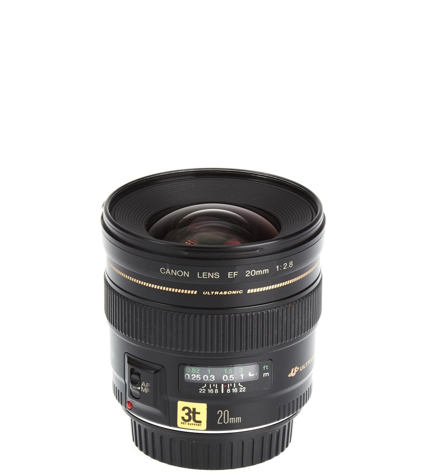 Lente Canon EF 20mm F/2.8 USM