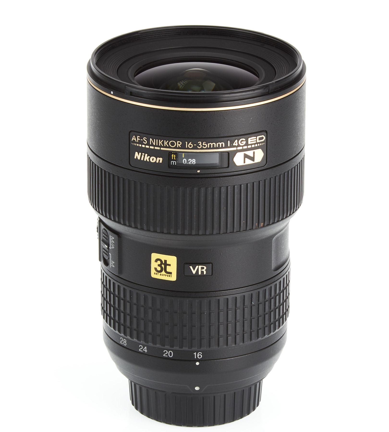 Lente Nikon 16-35mm F/4 G AF-S ED N (VR)