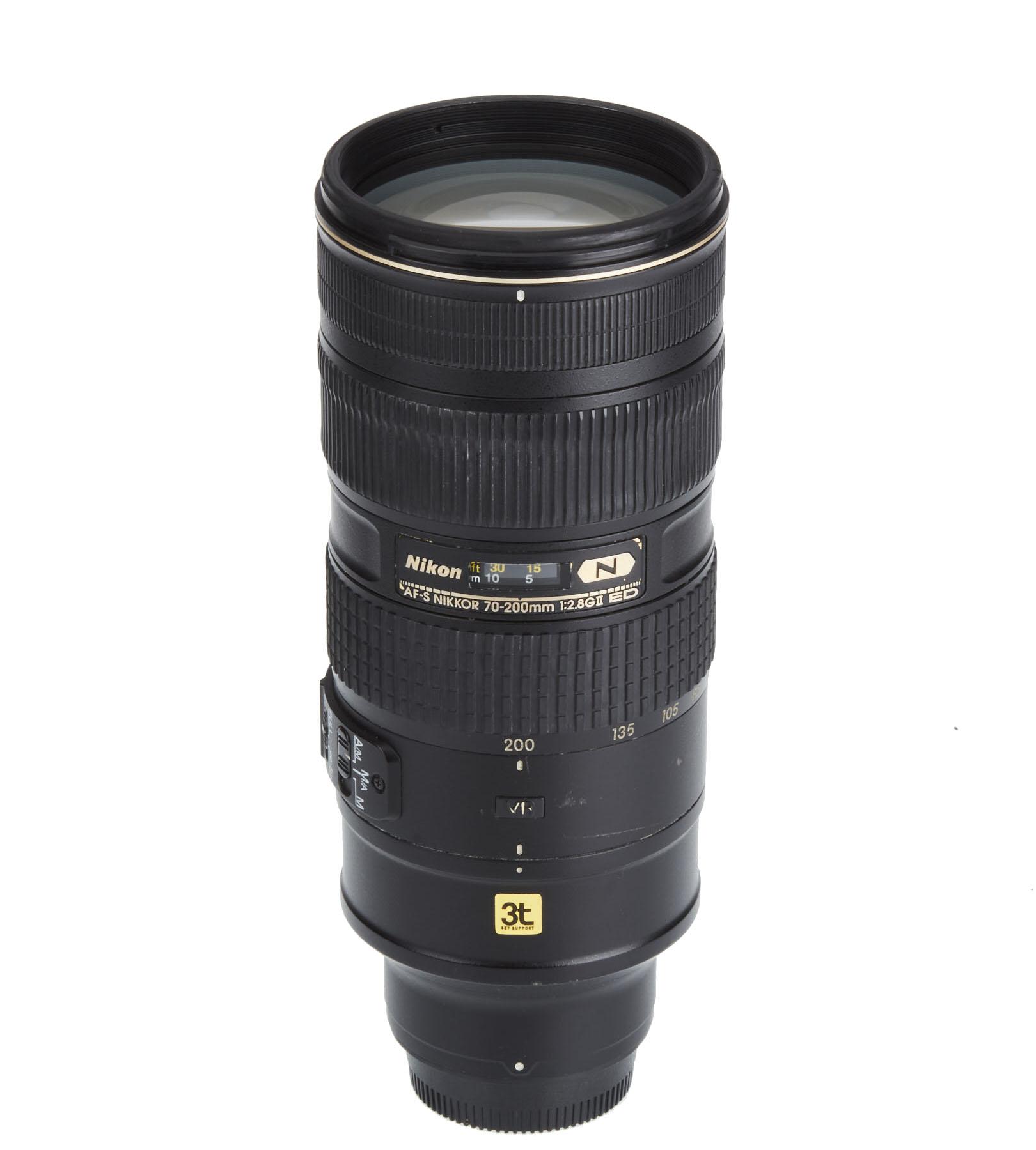 Lente Nikon 70-200mm F/2.8 G AF-S ED VR II