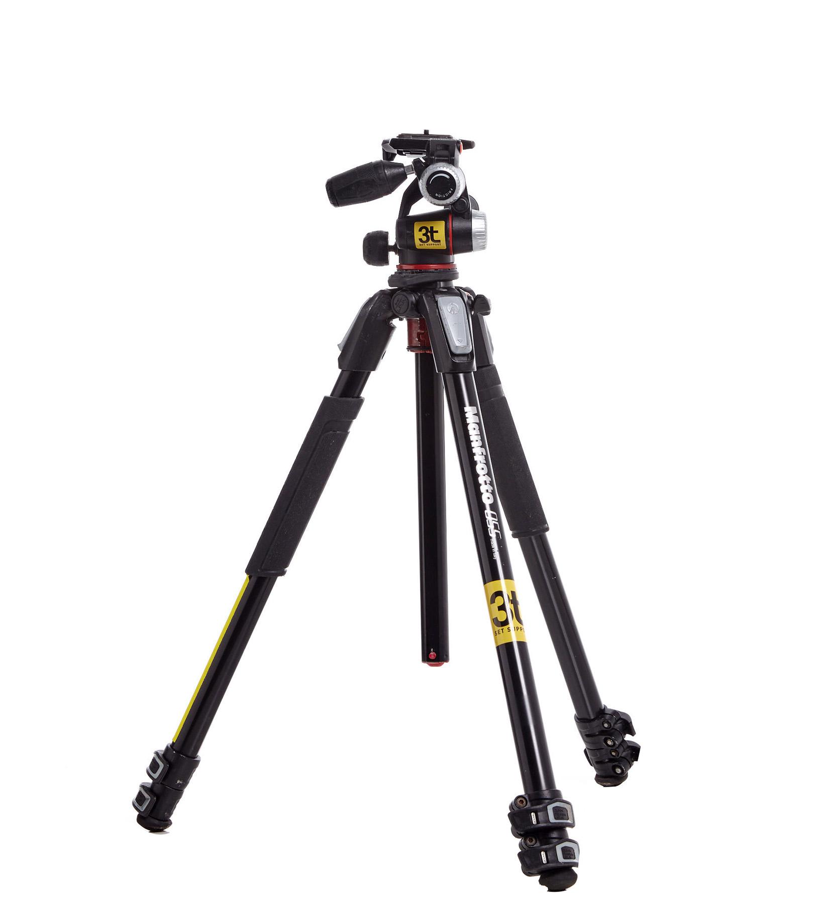 Tripé de câmera Manfrotto 055XPRO3 com cabeça XPRO 3-way