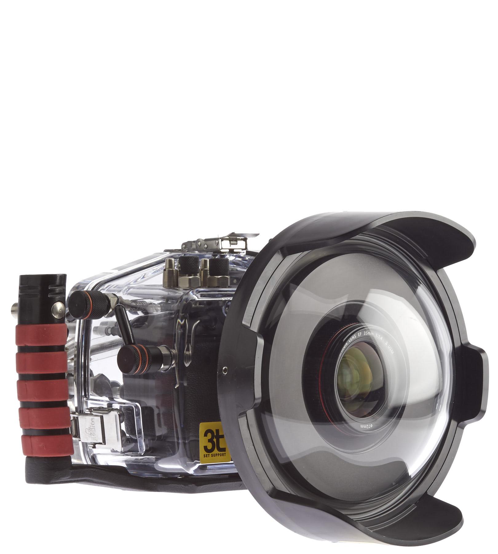 Caixa estanque Ikelite 200 FL para Canon (Mark III/Mark IV e 5DS R)
