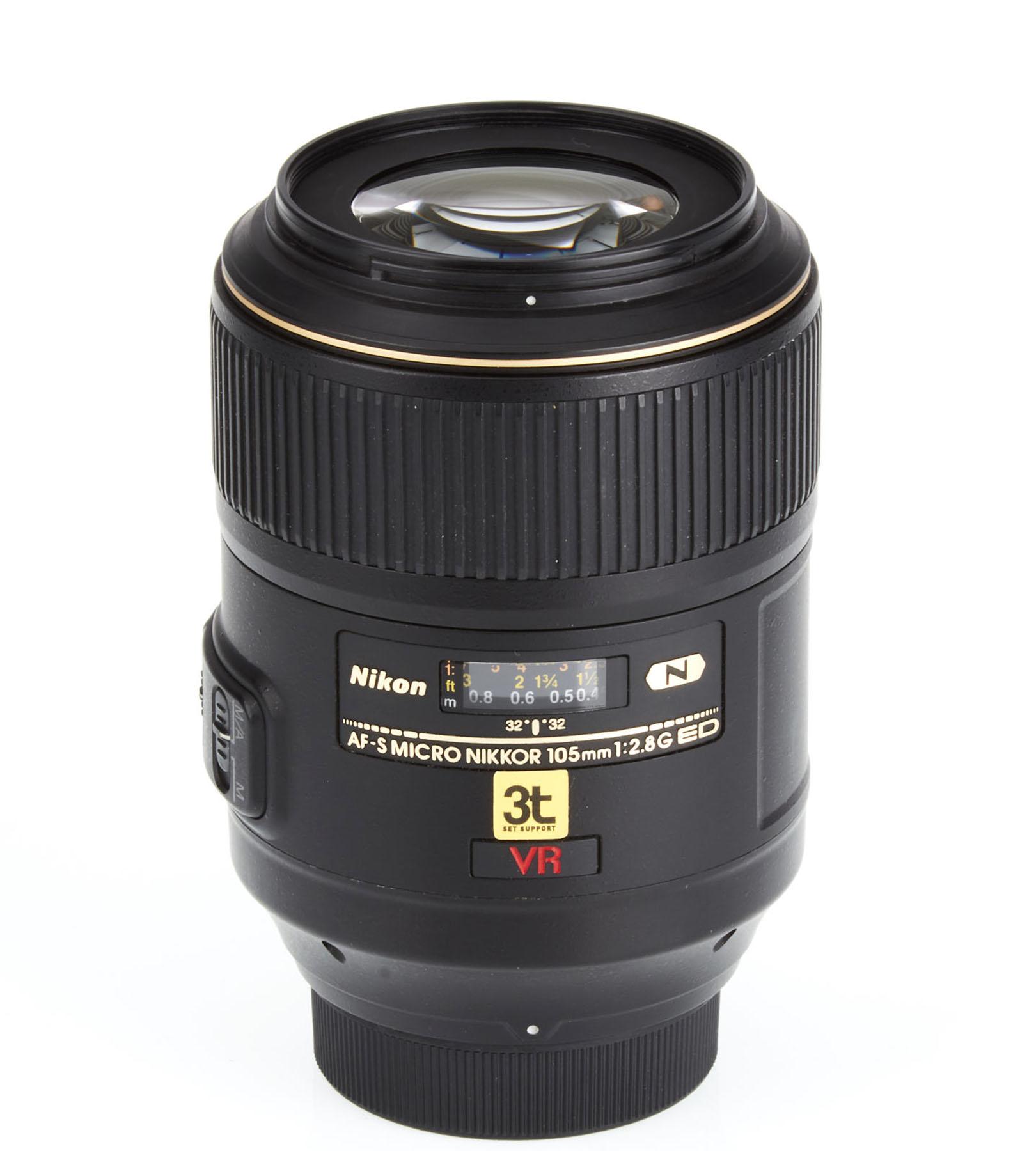 Lente Nikon 105mm F/2.8 G AF-S Micro (VR)